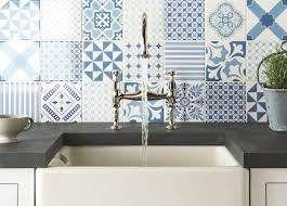 White Stone Kitchen Backsplash Kitchen Awesome Kitchen Backsplash Tiles Home Depot With Blue