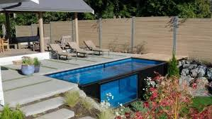 containers can make great swimming pools