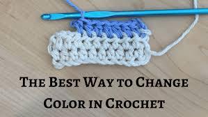 Kết quả hình ảnh cho HOW TO CHANGE COLORS IN CROCHET