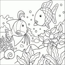 Small Picture Fish Coloring Pages Coloring Coloring Pages