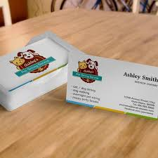 Pet Sitter Business Cards Pet Sitting Service Business Cards