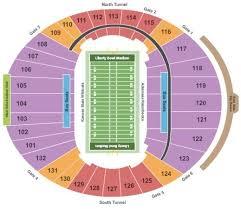 Liberty Bowl Interactive Seating Chart Independence Bowl Stadium Seating Chart History Of Study