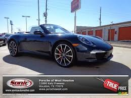 2013 Porsche 911 Carrera S Cabriolet in Dark Blue Metallic ...