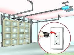 garage door opener adjust adjusting garage door opener glamorous align garage door sensors image titled adjust