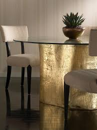 Metallic Home Decor Glam Metallic Table Accessories Perfect For Your Holiday Parties
