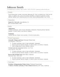 Resume Template For Mac Template Resume Templates Freelance Samples ...