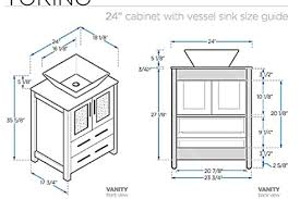 standard bathroom vanity height. Bathroom Standard Vanity Height On And Throughout With Vessel Sink Ideas 4 H