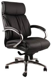 office leather chair. Leeds Leather Office Chair X