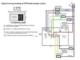 honeywell heat pump thermostat wiring diagram and attachment and blue wire thermostat at Hvac Thermostat Wiring Color Code