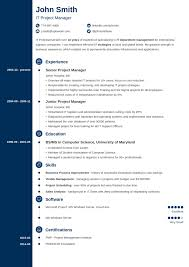 Resume 20 Resume Templates Download Create Your In 5 Minutes