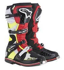 Alpinestars Boot Tech 8rs Black Red Yellow Black Red Yellow 11 Us Size 11 Men S Size Men 11 Boots Motorcycle Boots Black Boots
