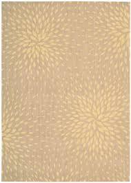 nourison capri cap2 beige area rug