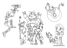 Small Picture Disney Robots Coloring Pages Coloring Pages