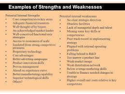 List Of Strengths For Interview Resume Weaknesses Examples 3 4 Personal Strength And Weakness List