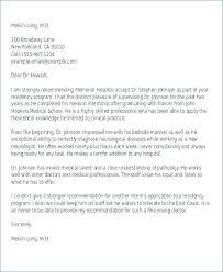 Letter Of Recommendation For Medical Doctor Character Reference Letter Samples Good Sample Recommendation
