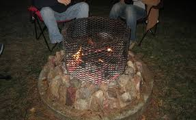 grate drum fire pit