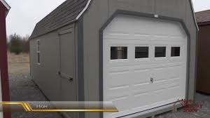 1 PREFAB GARAGE SHEDS  PORTABLE GARAGES WITH DOORS  YouTube