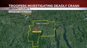 1 Dead After Being Ejected From Car In Ontario County Whec Com