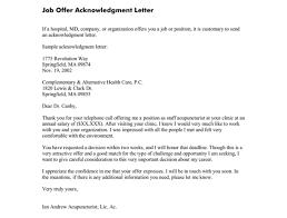 Letter Job Offer Pelosleclaire Com