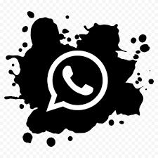 white whatsapp wa whats app icon png