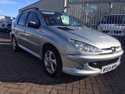 2004 04 PEUGEOT 206 SW ESTATE 1.6 LOW MILES WITH PART HISTORY ...