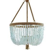 seychelles clear chandelier