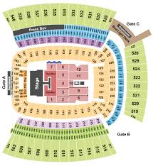 Heinz Field Seating Chart Kenny Chesney Florida Georgia Line Old Dominion
