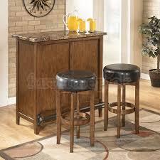Stylish And Peaceful Bar Set Furniture Fine Decoration Home Bar