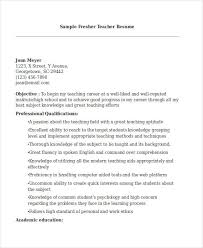 Teacher Resume Sample Pdf Example Document And Resume