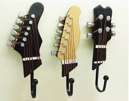 Guitar Coat Rack