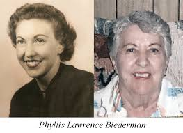 OBITUARY: Phyllis Lawrence Biederman