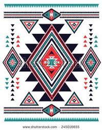 Navajo Aztec Big Pattern Vector Illustration  Stock  A