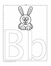 Use these sheets to teach the small letters of the alphabet. The Letter B Coloring Page Worksheets