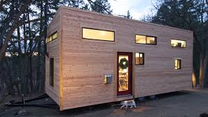 Elegant Minimalist Tiny House On Wheels With Staircase - Tiny house on wheels interior
