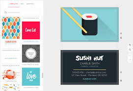 Create And Print Restaurant Business Cards Musthavemenus