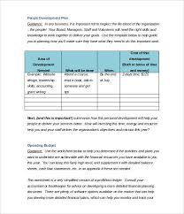 sample balance sheet for non profit 21 non profit business plan templates pdf doc free premium
