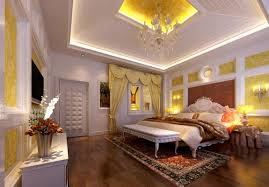 Tray Ceiling Lighting Ideas With Simple Bedroom Decorating Inside Master  For Encourage ...