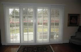 the sliding glass doors for aesthetic and functional doors plantation shutters for sliding glass doors