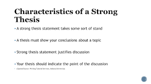 embedded assessment two most important sentence in your essay 3 61607 a strong thesis statement