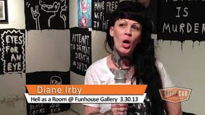 CriticCar Detroit: Diane Irby @ Funhouse Gallery 3.30.13 - YouTube