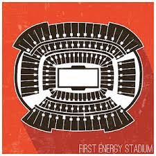 Browns Seating Chart