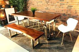 large solid wood dining table rustic solid wood large round dining table chair set room chairs