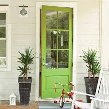 green front doors7 Colorful Front Doors  What Color Should I Paint Mine  The
