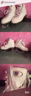 J12 Shoe Size Chart Riedell Ice Skates Girls Shoes Like New Looks Like Scratches