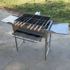 Homemade Spit Roast Design Homemade Bbq Lamb Pig Charcoal Outdoor Spit Roast Grills