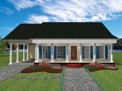 Home Plans   Carports   House Plans and Morefront color rendering of ranch home   carport  ViewthisPlan