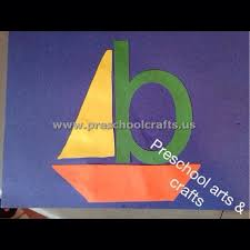 letters b crafts for preschool alphabet crafts