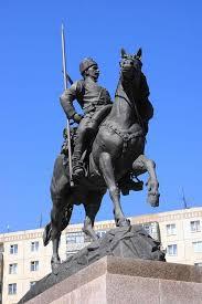 Памятники Город Оренбург Памятник оренбургскому казачеству