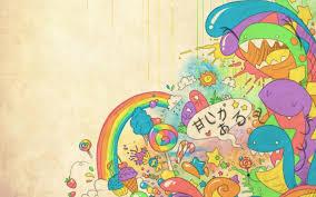 Colorful Cute Background Designs Wallpaper Cute