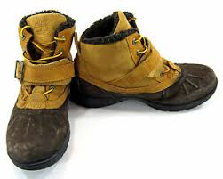 Details About Timberland Boots Mallard Waterproof Bungee Wheat Brown Shoes Size 6
